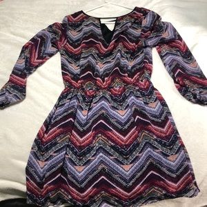 Mini dress long sleeve